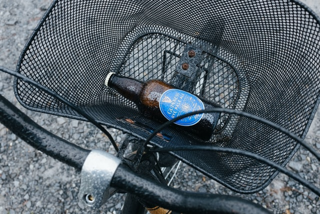 riding bike with alcohol